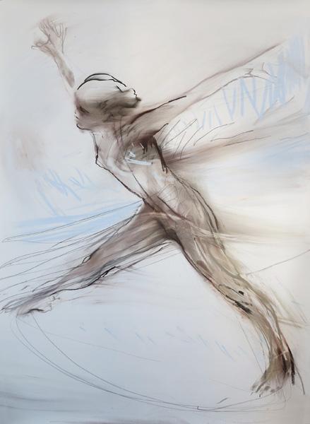 Tegning av Runi Langum
