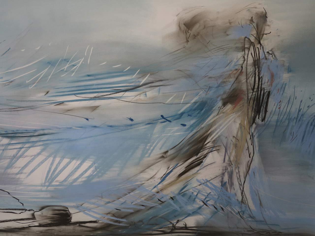 Slep violet, tegning 115 x 190