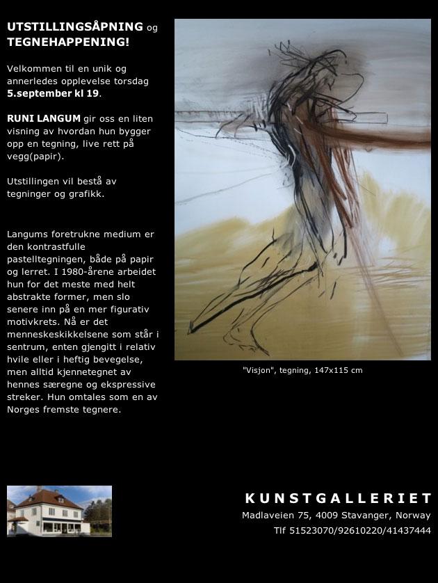 Utstillingsåpning og Tegnehappening i Stavanger