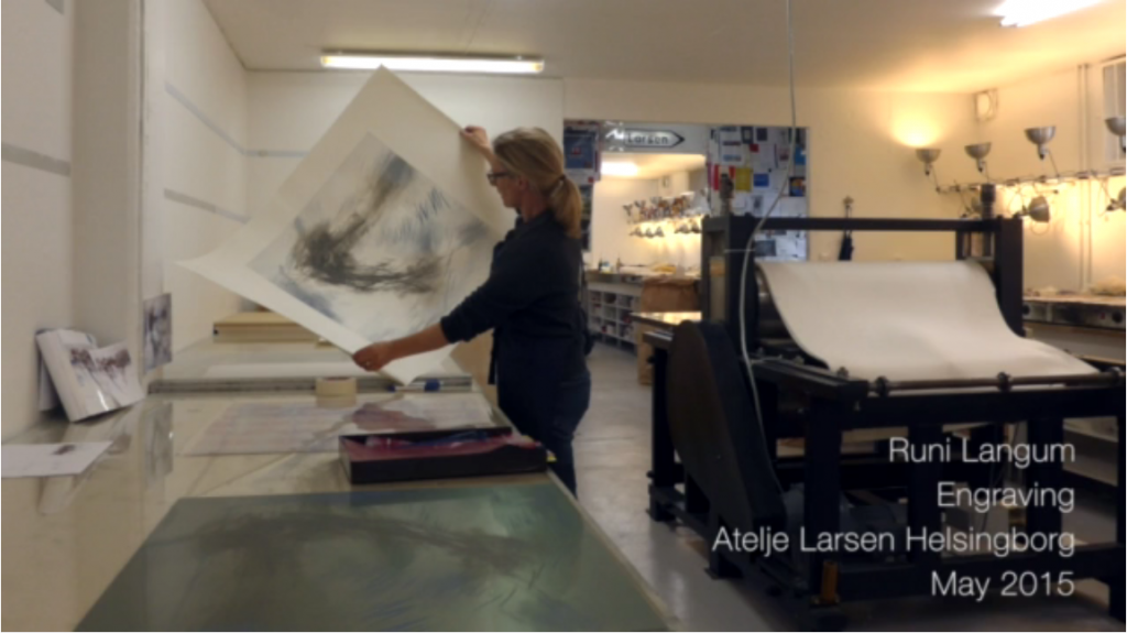 Engraving at Atelje Larsen Helsingborg